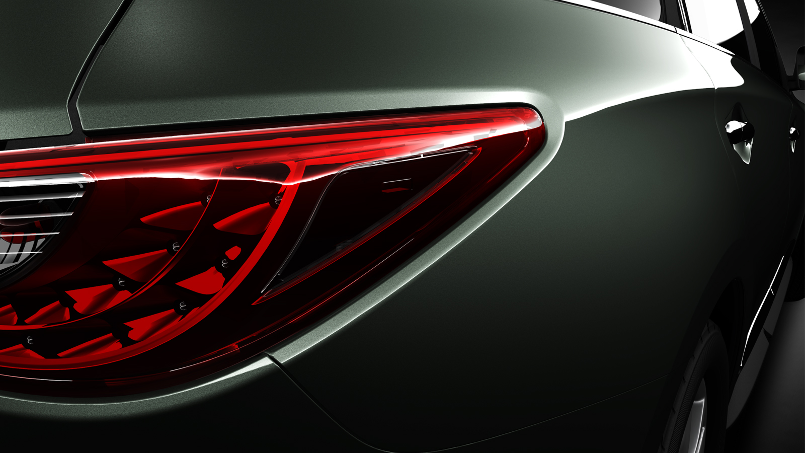 Infiniti JX Concept Teaser 2 INFINITI RELEASES FIRST EDITION OF INFINITI JX CONCEPT