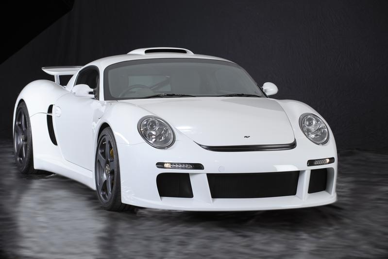 RUF CTR 3 4 NEW POWDER PUFF CTR 3 LAUNCHED BY THE GERMAN AUTOMAKERS