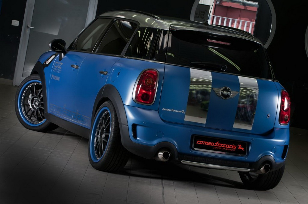 Romeo Ferraris Mini Countryman Romeo Ferraris to launch modified Mini Countryman