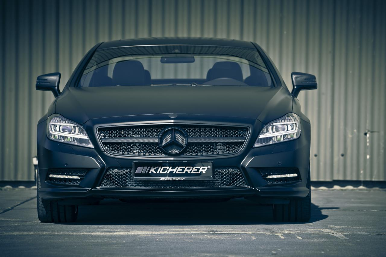 mercedes cls edition black by kicherer packs 2 Kicherer captures market with black Mercedes CLS model