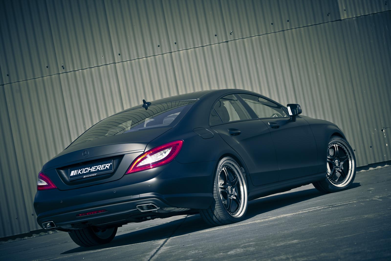 mercedes cls edition black by kicherer packs 3 Kicherer captures market with black Mercedes CLS model