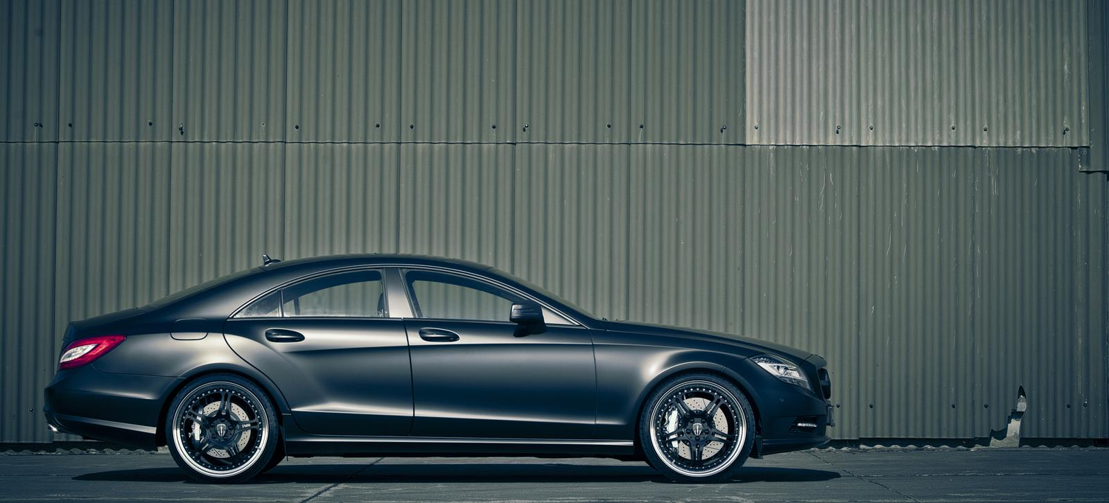 mercedes cls edition black by kicherer packs 6 Kicherer captures market with black Mercedes CLS model