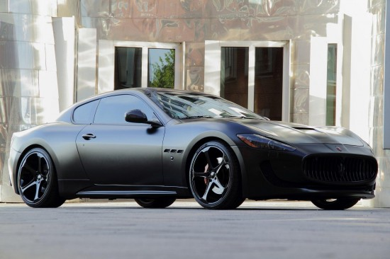 2011 Anderson germany maserati granturismo s superior black edition SUPERIOR BLACK EDITION MASERATI GRAN TURISMO BY THE GERMAN AUTOMAKERS