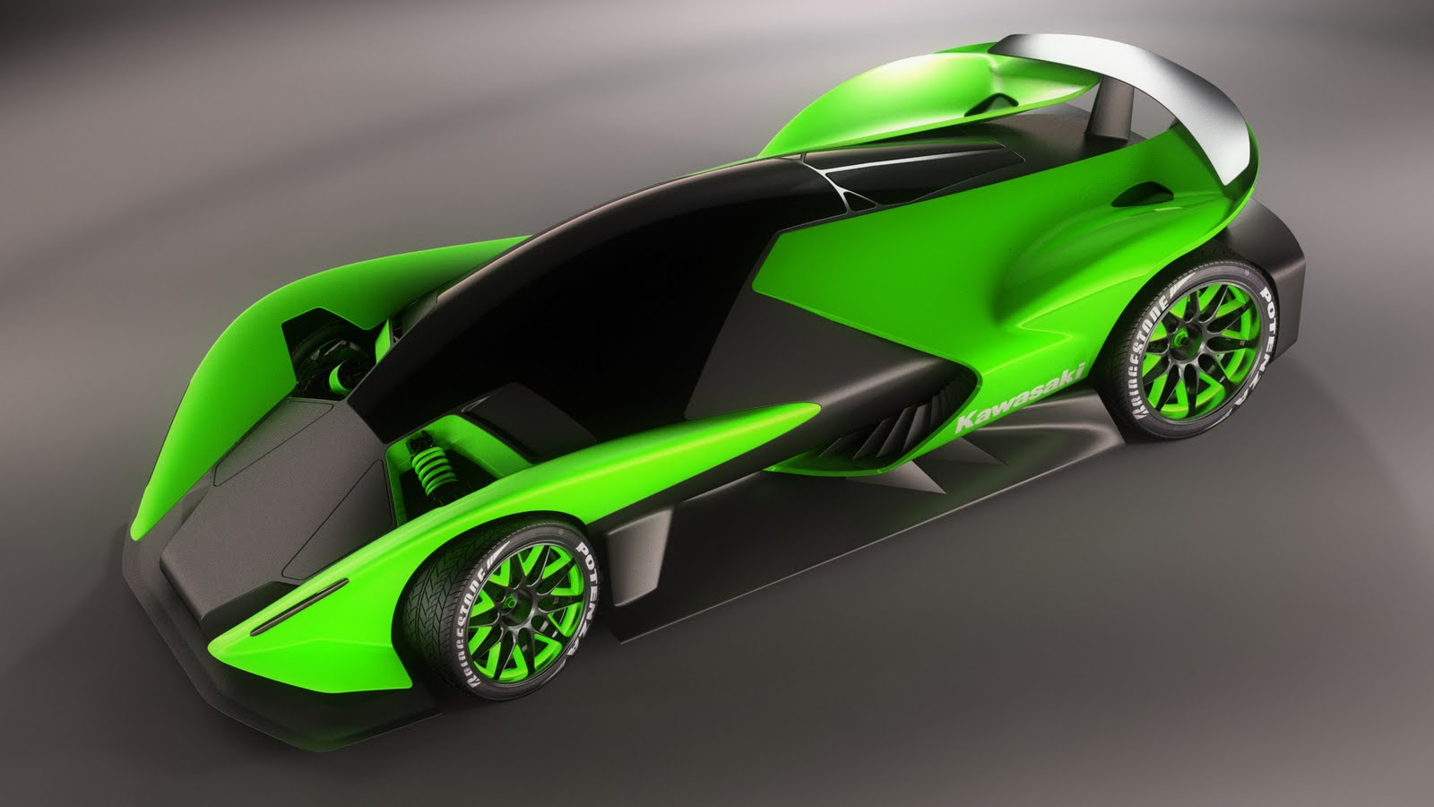 2011 Kawasaki ZX 770R Concept 3 2011 Kawasaki ZX 770R Concept to Be Upgraded Based on KTM X BOW
