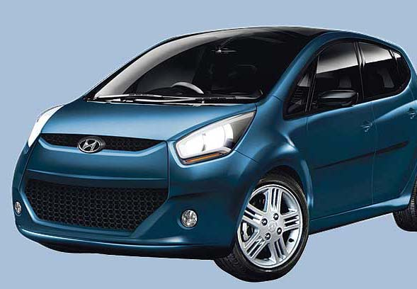 2011 hyundai small car gb2 2012 Hyundai HA Concept Car   An Overview