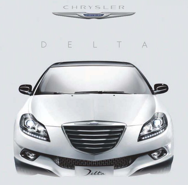 2012 Chrysler Delta1 THE ALL NEW 2012 CHRYSLER DELTA  FOR U.K.MARKET