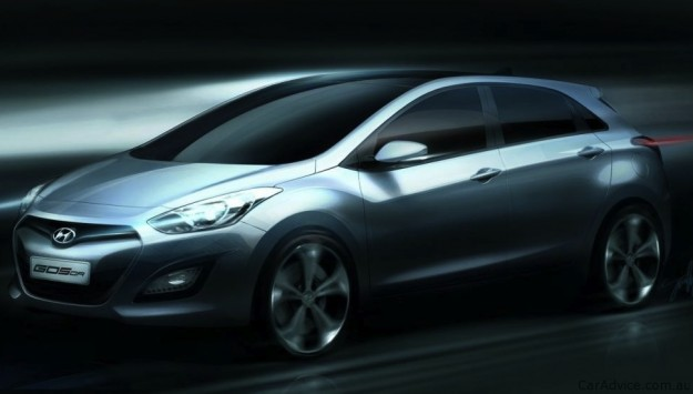 2012 Hyundai i30 HYUNDAI 2012 I30 OFFICIAL IMAGE RELEASED