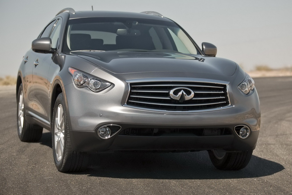 2012 Infiniti FX35 2 2012 INFINITI FX35 FACELIFT EDITION INTRODUCED