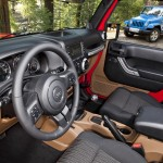 2012 Jeep Wrangler Unlimited Sahara interior