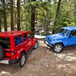 2012 Jeep Wrangler Unlimited Sahara and 2012 Jeep Wrangler Sahar