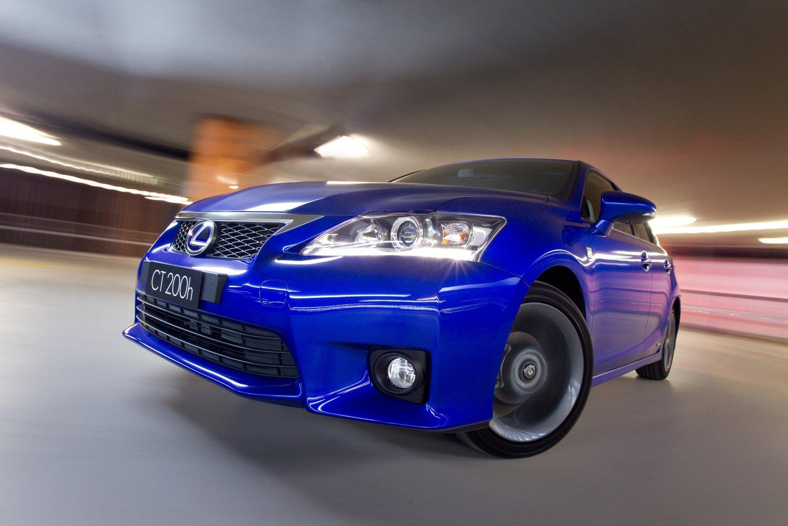 2012 Lexus CT200h 6 NEW LEXUS CT200H 2012 WILL HAVE F SPORT PACKAGE IN THE US EDITION