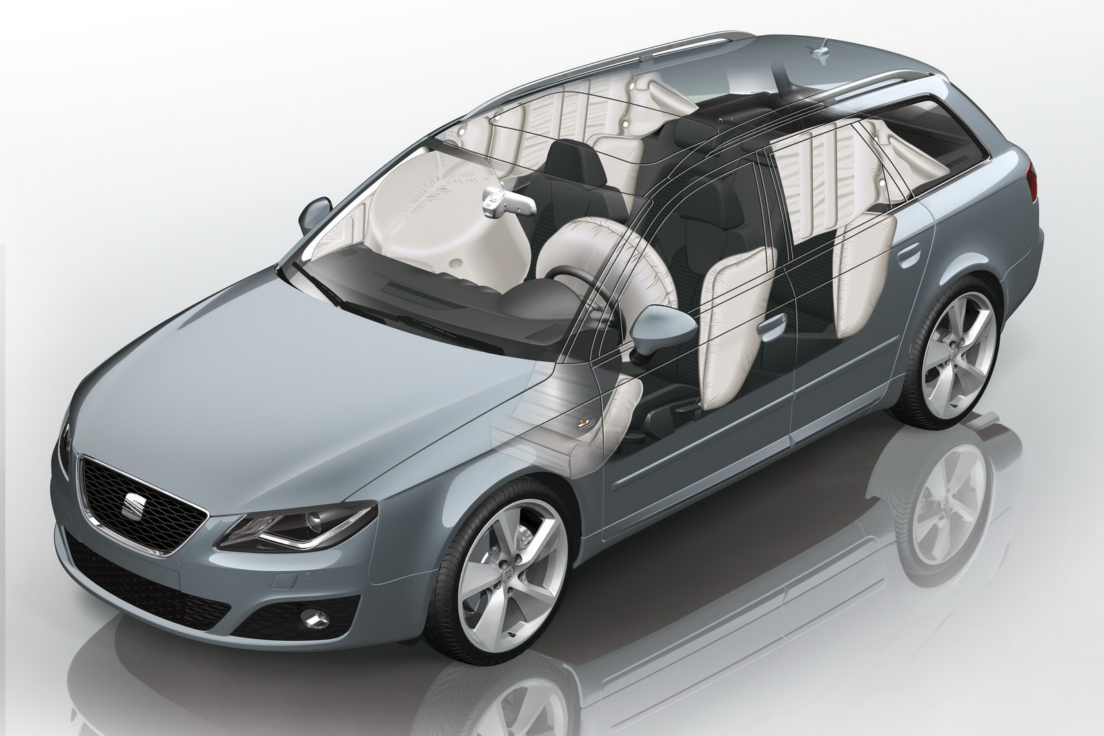 2012 Seat Exeo Saloon and ST 51 2012 SEAT EXEO SALOON AND ST FACELIFT VERSION INTRODUCED