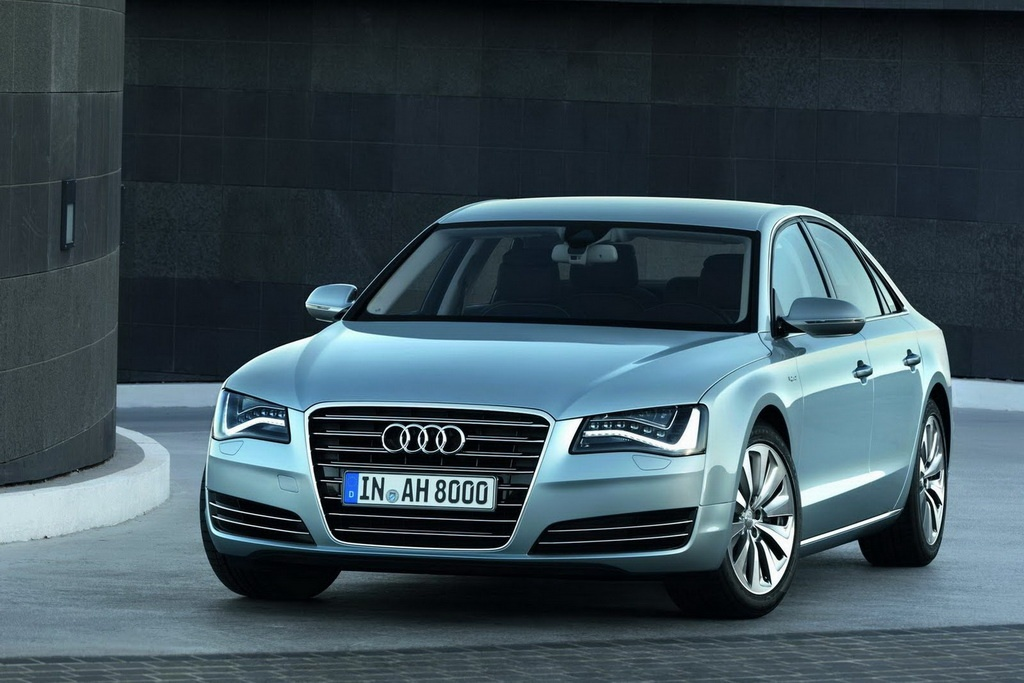 2013 Audi A8 Hybrid 2 The German Fairy Tale