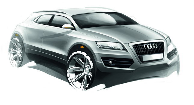 Audi 1 AUDI PREPARING Q6 CROSSOVER TO COMPETE BMWS X6 IN 2016