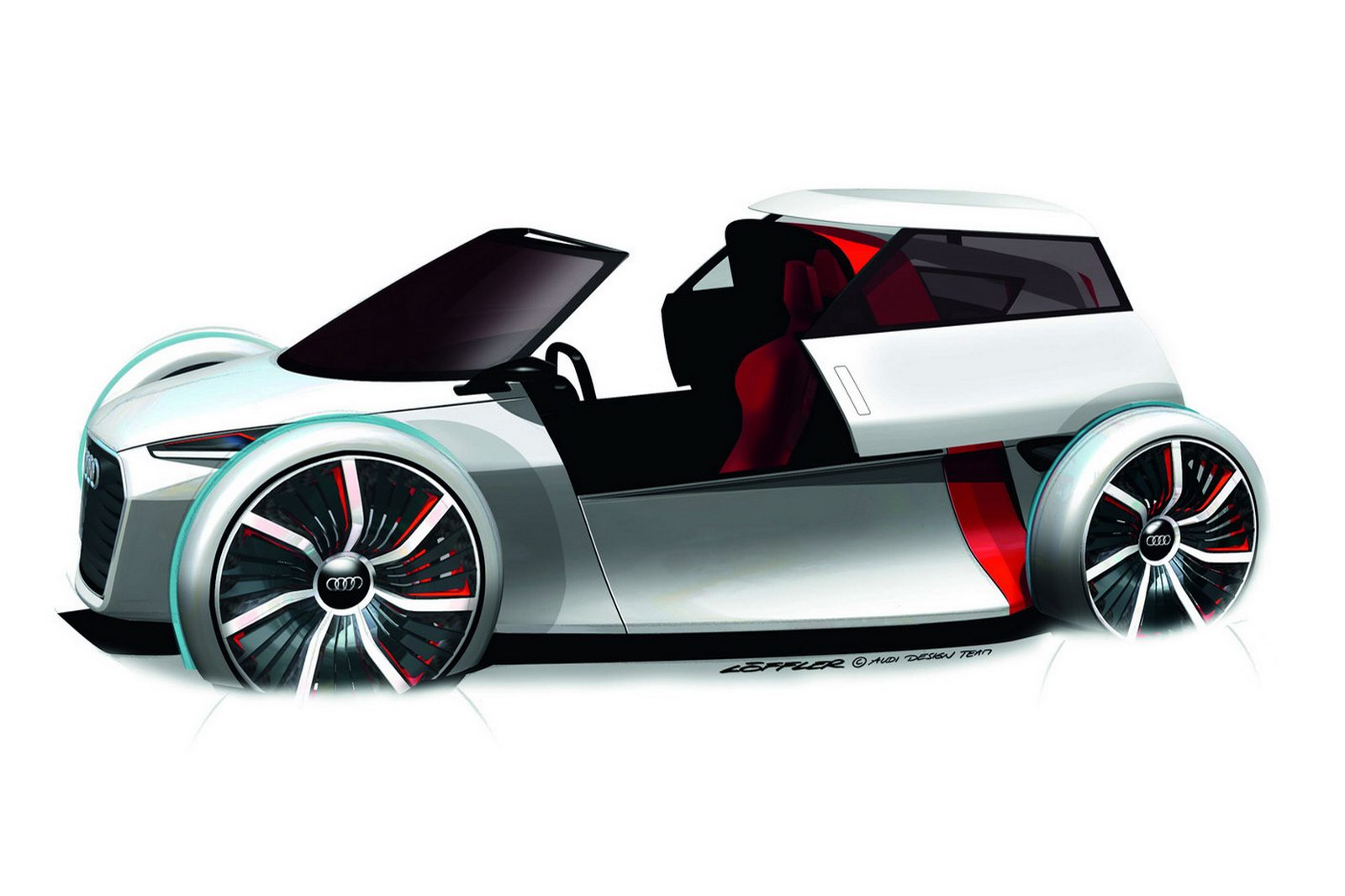 Audi Urban Concept 3 AUDIS URBAN E TRON MINICAR CONCEPT TO BE UNVEILED IN FRANKFURT SHOW