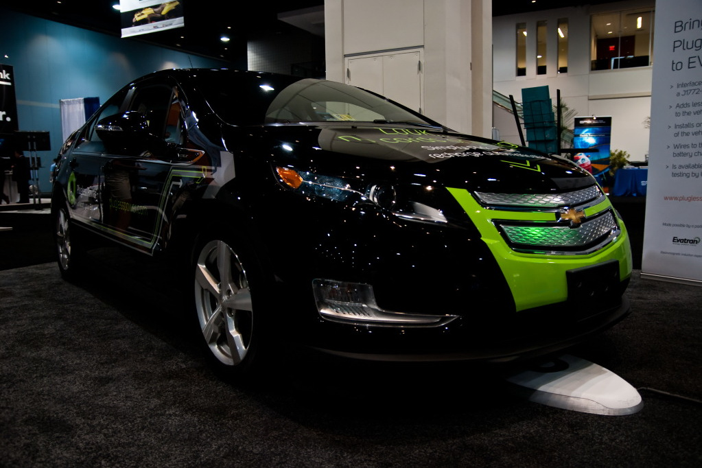 Evatran Wireless Vehicles EVATRAN ANNOUNCES WIRELESS CHARGING STATIONS FOR AUTOMATIC VEHICLES