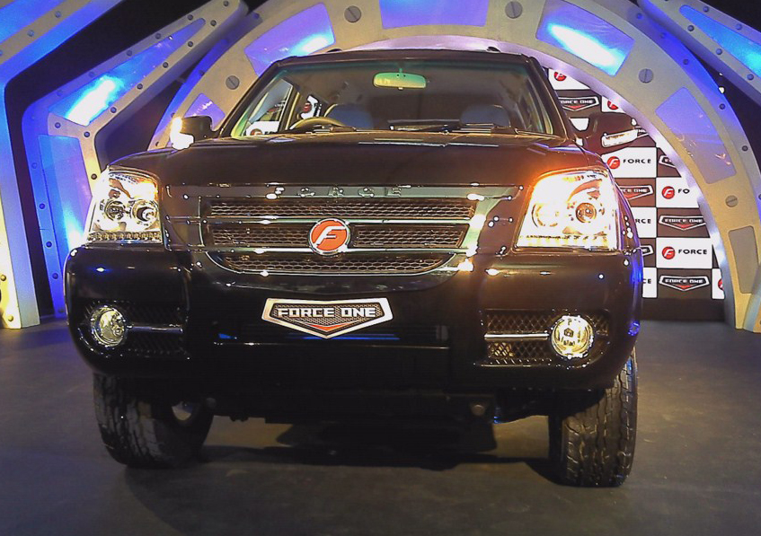Force Motors One SUV 2 Force One at Mumbai with Excellent Car Upgradation Kit