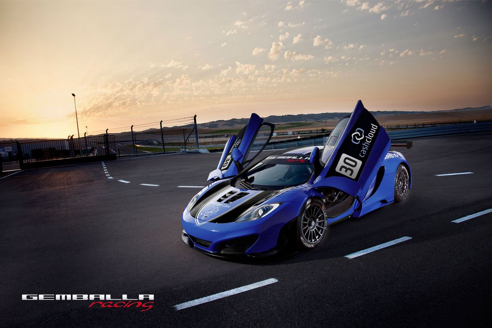 Gemballa racing McLaren MP4 12C GT3 1 Gemballa to Launch McLaren MP4 12C GT3 Models