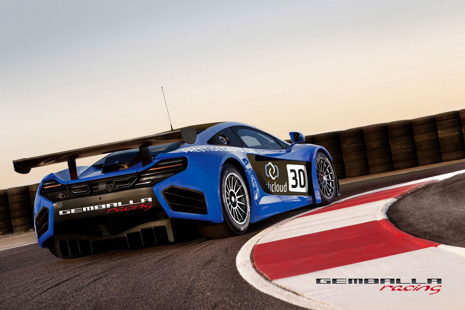 Gemballa racing McLaren MP4 12C GT3 2 Gemballa to Launch McLaren MP4 12C GT3 Models