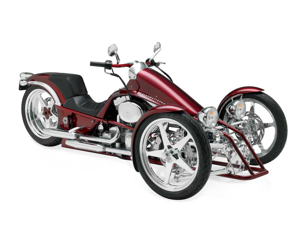 Harley Davidson Penster 3 Harley   Davidson unveils prototypes of its leaning trike named Penster