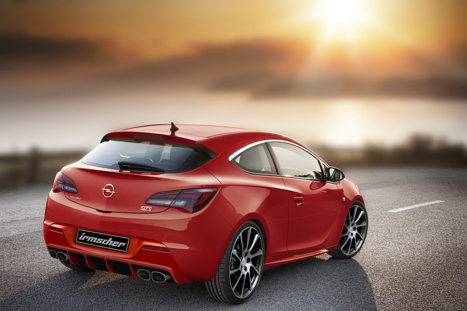 Irmscher Sports New Opel Astra GTC  THE  NEW OPEL ASTRA GTC TO PREMIERE IN FRANKFURT MOTOR SHOW