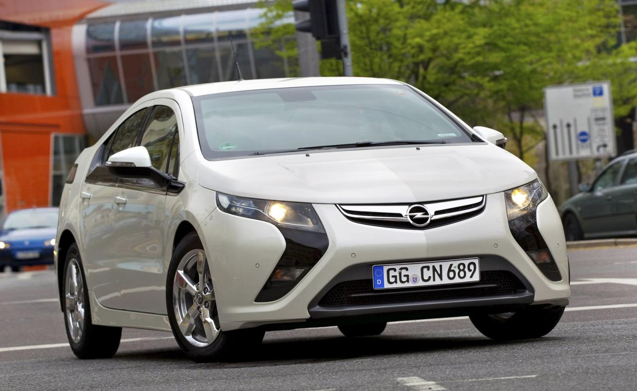 opel second generation ampera OPEL ANNOUNCES THAT  SECOND GENERATION AMPERA WILL BE CHEAPER