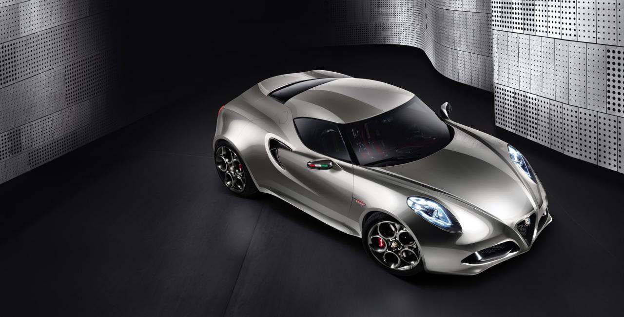2011 Alfa Romeo 4C Concept 3 2011 ALFA ROMEO SPORTS THE METALLIC LOOK
