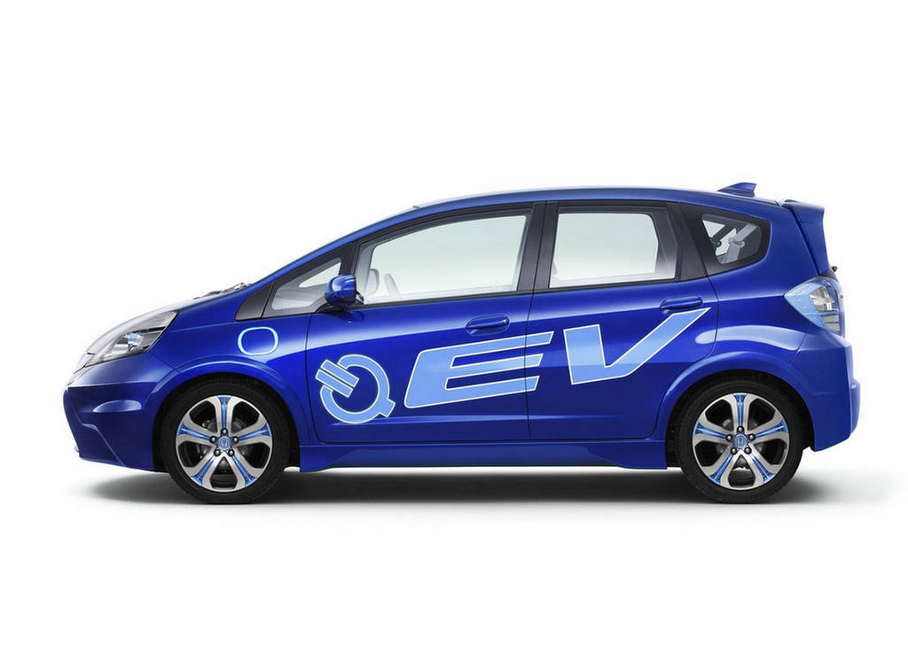 2011 Honda Fit Electric Vehicle Concept 2 2011 Honda's EV concept surprised the IAA viewers