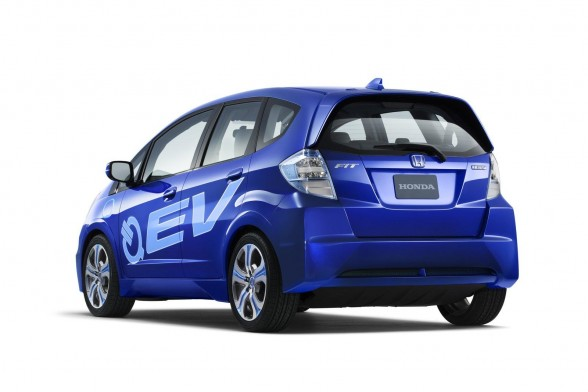 2011 Honda Fit Electric Vehicle Concept 3 2011 Honda's EV concept surprised the IAA viewers