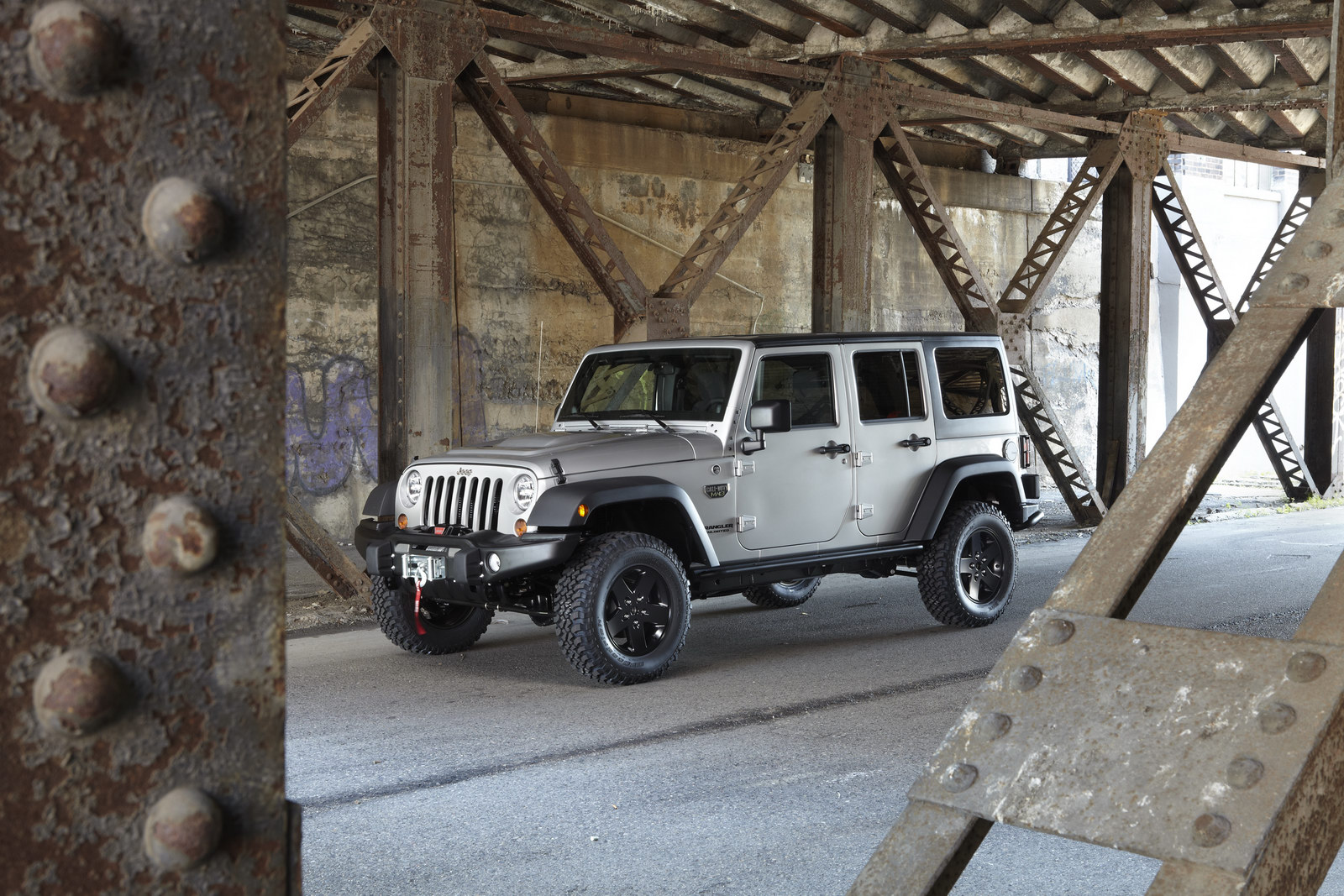 2011 Jeep Wrangler MW3 1 Special Edition 2012 Wrangler   Call of Duty: MW3
