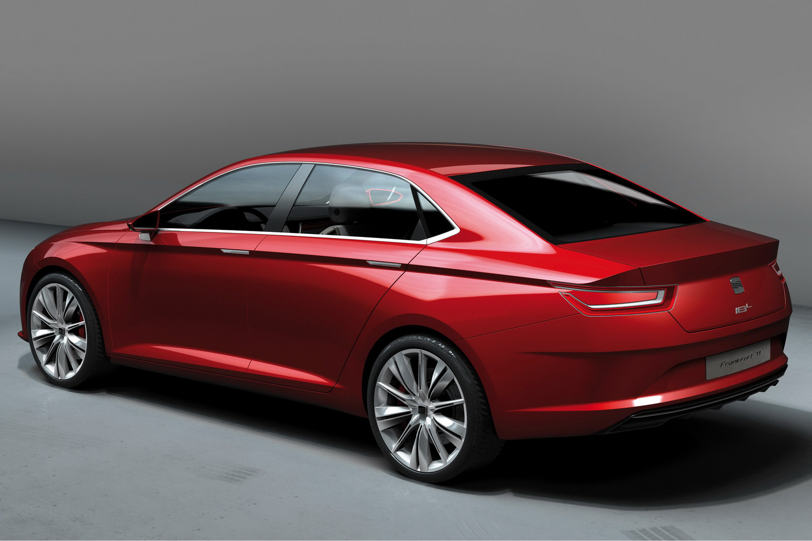 2011 SEAT IBL Sports Concept CSP 3 Seats Sharp Looking IBL Concept Sedan for IAA 2011