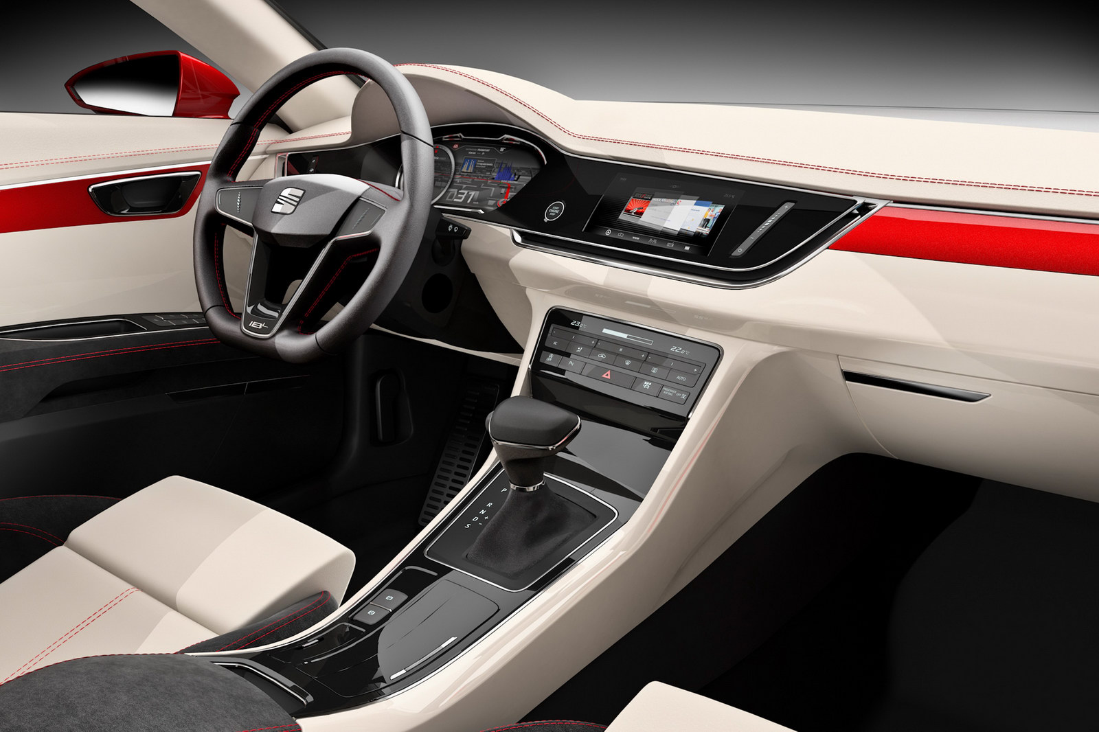 2011 SEAT IBL Sports Concept CSP 5 Seats Sharp Looking IBL Concept Sedan for IAA 2011