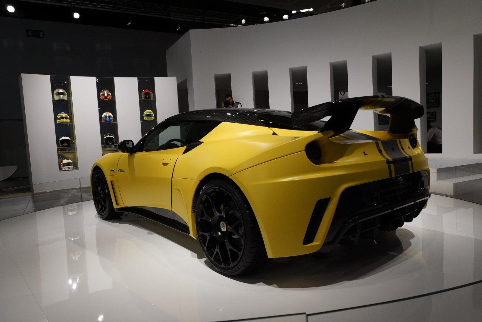 2012 Lotus Evora GTE Limited Edition 3 Limited edition 2012 Lotus Evora GTE appears in IAA Show
