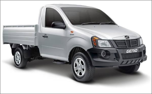 2012 Mahindra Genio Pick up 3 2012 Mahindra Genio Pick up range now available For Global Markets