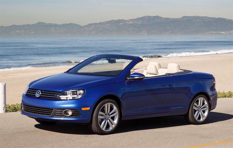 2012 Volkswagen Eos 2012 Volkswagen Eos with Adjustable Car Upgradation Accessories