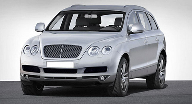 Bentley SUV Based on Audi Q711 Bentley to Launch Newly Upgraded SUV and Small Vehicles with 4 Seats