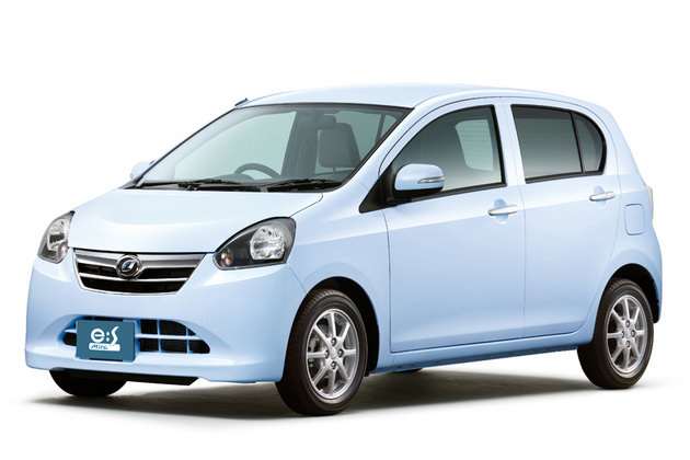 Daihatsu Mira eS Daihatsu unveils new Fuel – Efficient edition