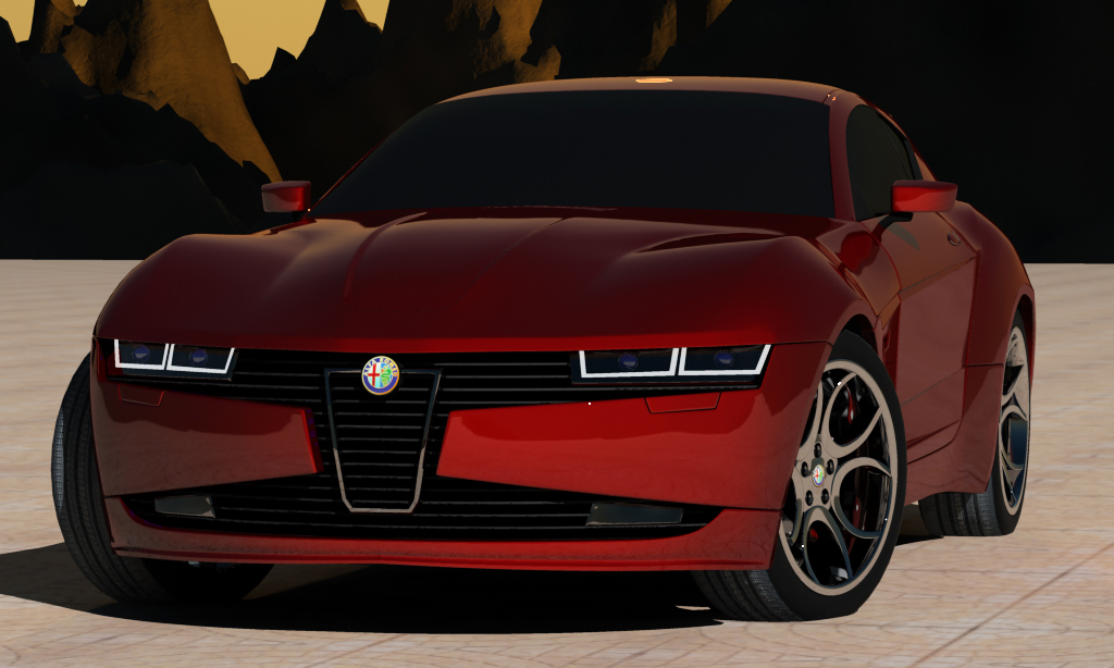 IDECORE Presents Alfa Romeo Minhoss Concept IDECORE to Tune New Alfa Romeo Minhoss Concept