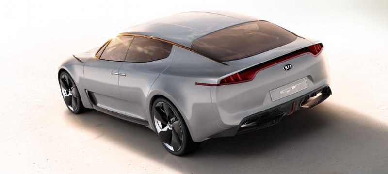 Kia GT Study IAA 1 Kia Gives Way To New Model