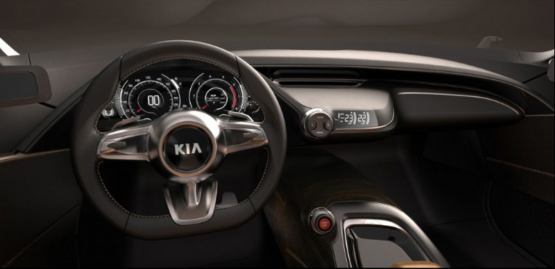 Kia GT Study IAA 6 Kia Gives Way To New Model