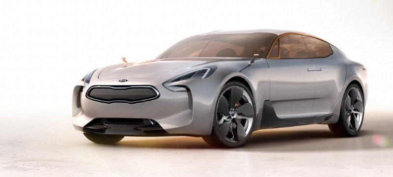 Kia GT Study IAA Kia Gives Way To New Model