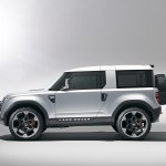 New Land Rover Defender with Frankfurt-bound DC100 concept