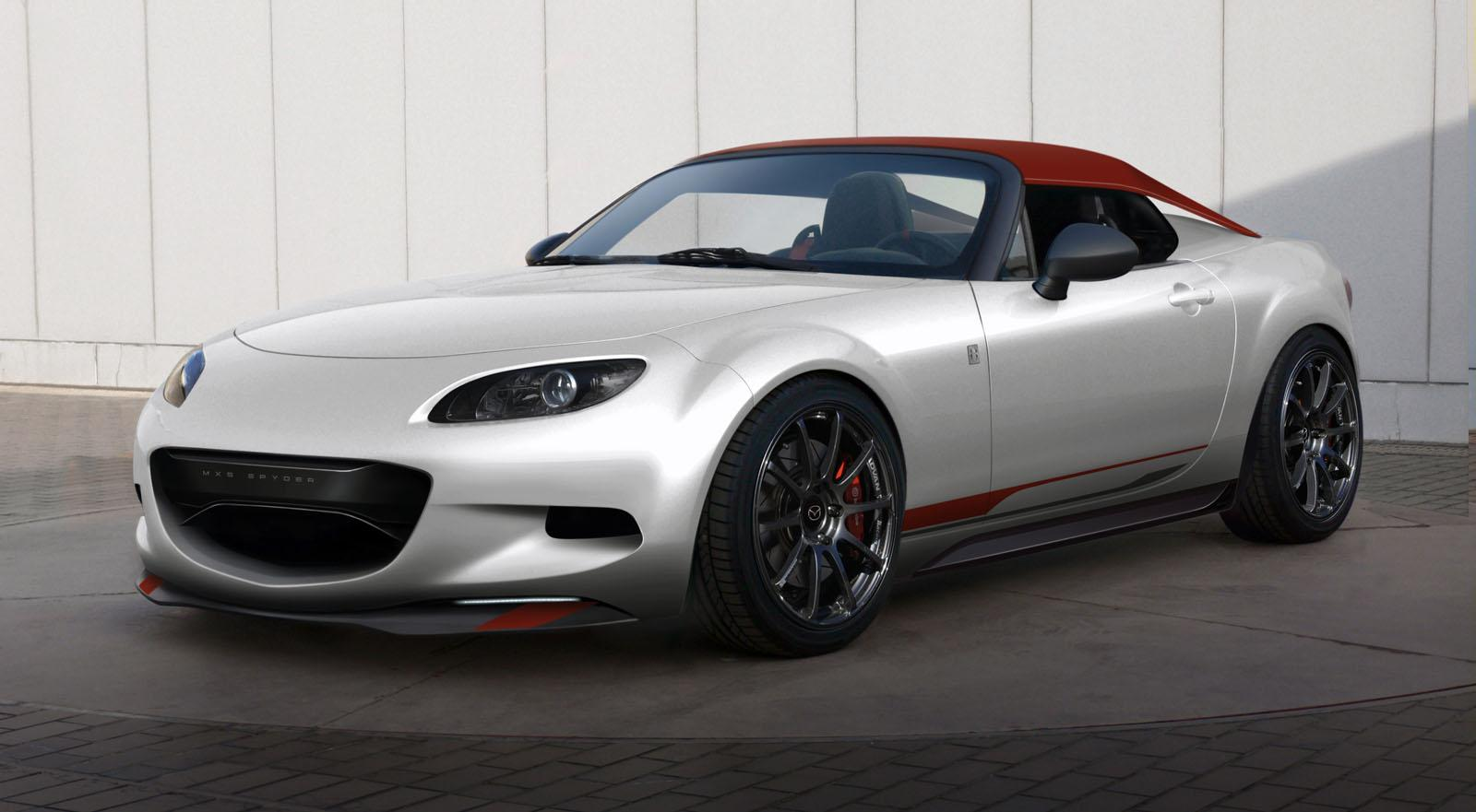 2011 Mazda MX 5 Spyder 2011 Mazda MX 5 Spyder & Turbo2 to Be Showcased at SEMA Car Show