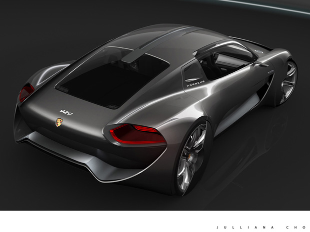 2011 Porsche 929 Designer Concept 2 2011 Porsche 929 Designer Concept   More Colorful and Energy Efficient