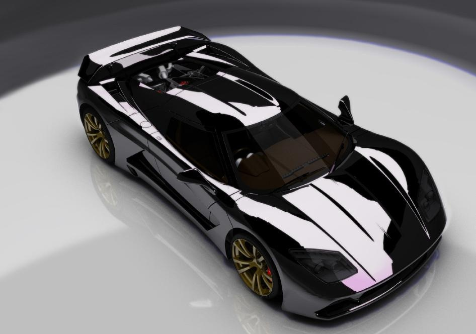 2012 Genty Akylone French Supercar 3 Make Way For the New French Super Car   2012 Genty Akylone 1000 HP!
