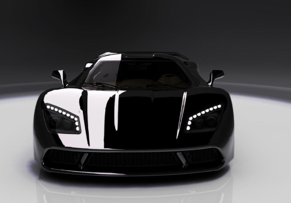 2012 Genty Akylone French Supercar 7 Make Way For the New French Super Car   2012 Genty Akylone 1000 HP!
