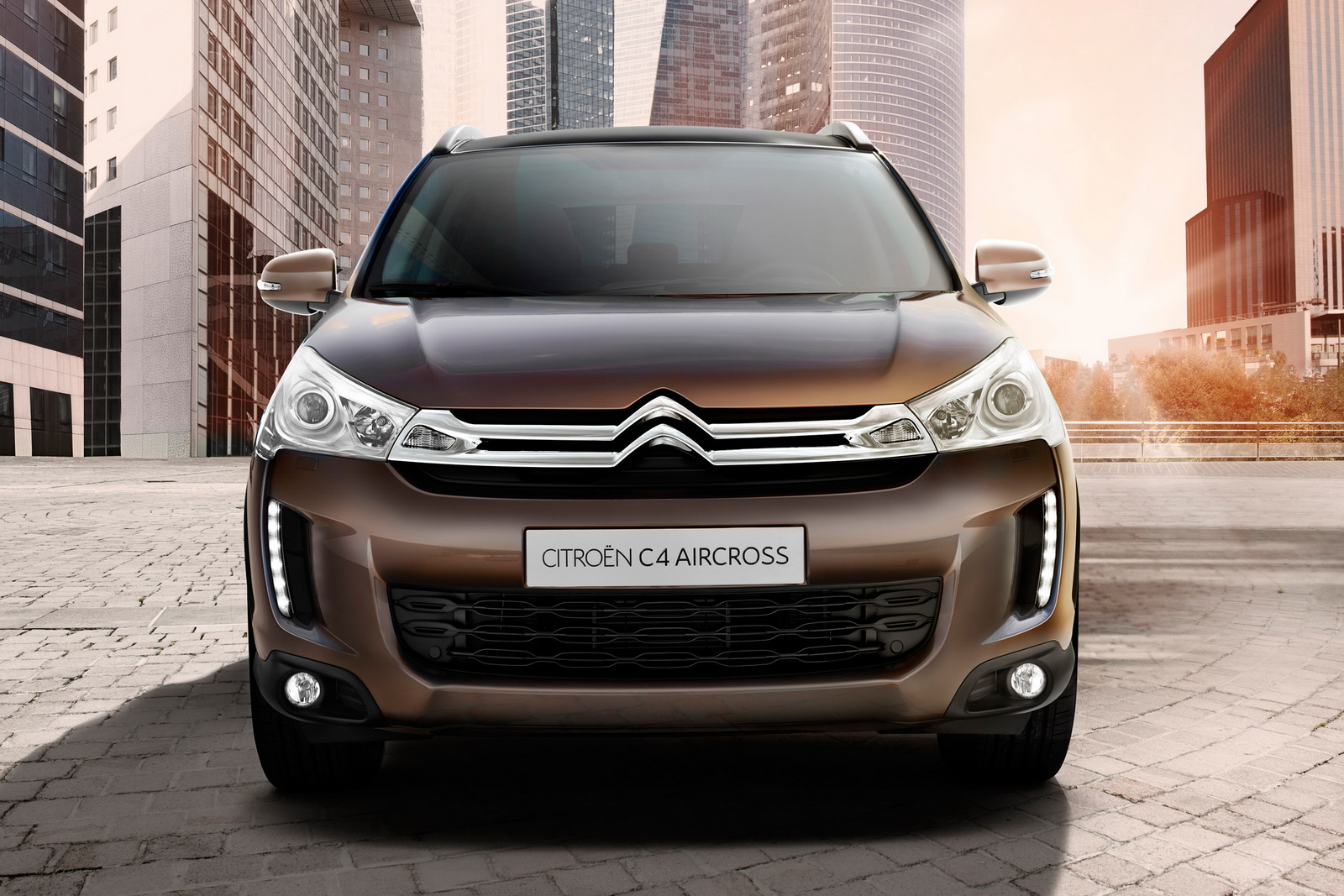Citroen C4 Aircross 2 PSA Peugeot Citroen Group Wrapped off Uniforms of Citroen C4 Aircross and Peugeot 4008