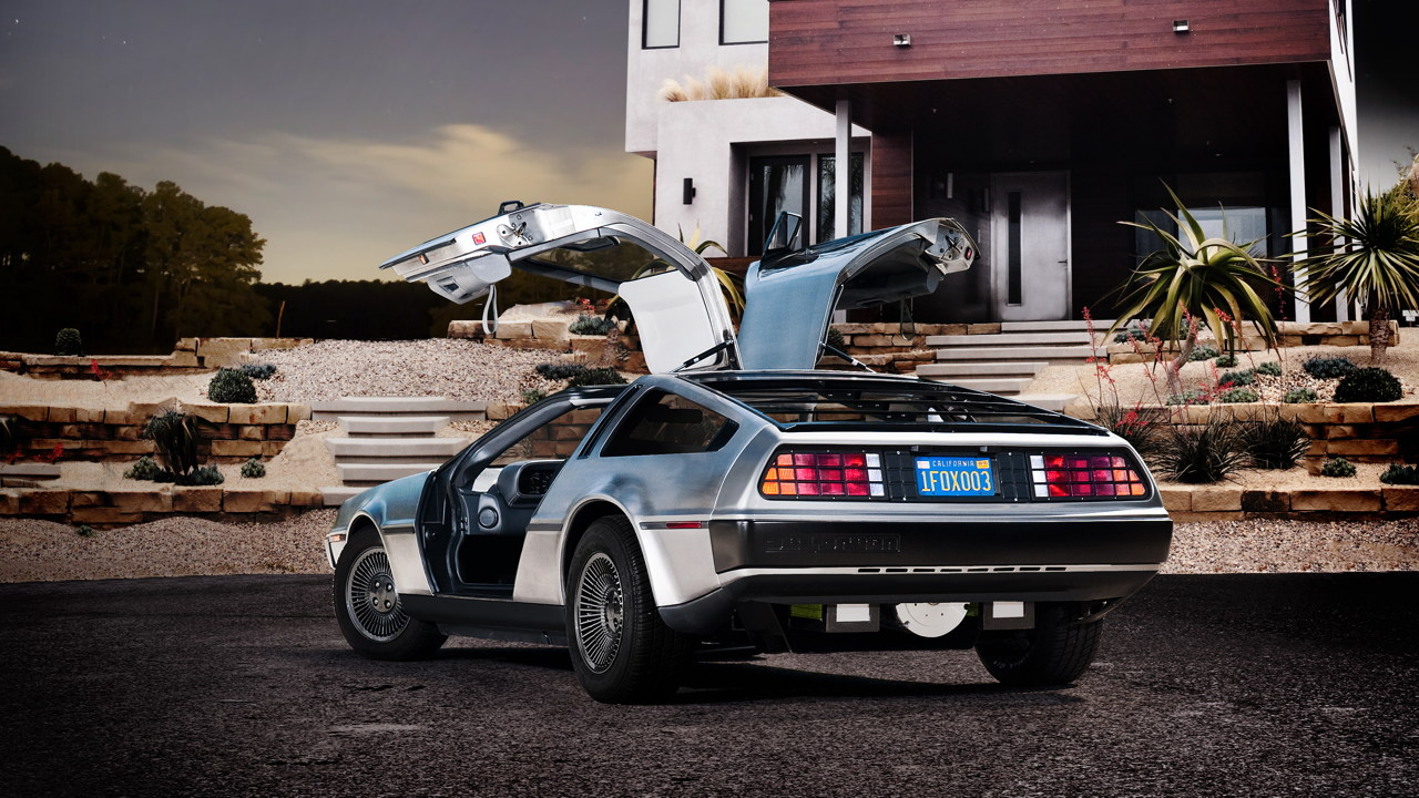 DMC announces all electric DeLorean for 2013 2013 all electric DeLorean announced by DMC