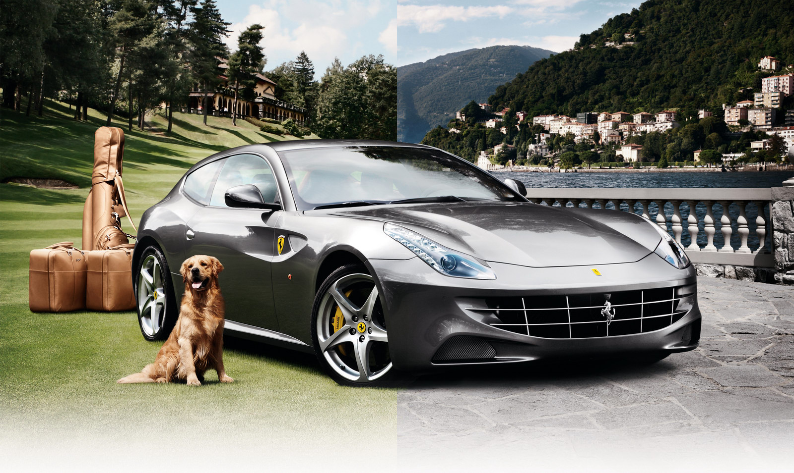 Ferr 3 Neiman Marcuss in its flaunting spree   2012 Ferrari FF