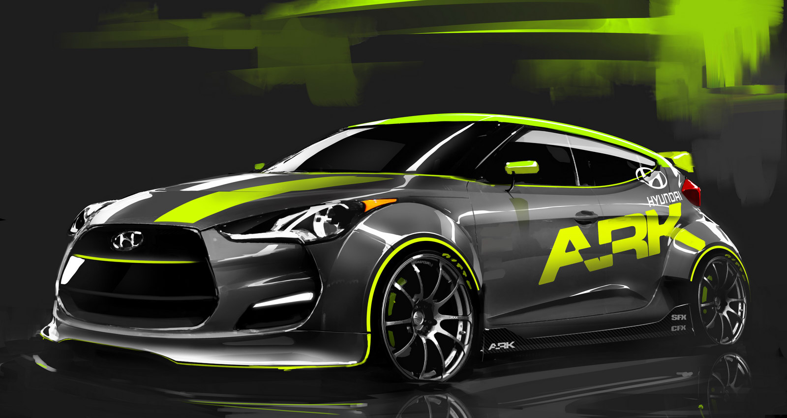 New Hyundai Veloster gets Turbocharged 1 New Hyundai Veloster gets Turbo Charged